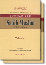 Sahih Muslim Summarized (2 volumes)