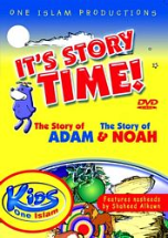 It's Story Time: Story of Adam and Noah DVD
