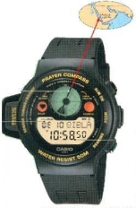 Casio Prayer Compass Watch (CPW-310)