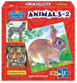 Allah Made Them All Puzzle: Animals 2 (Box of 3 puzzles)