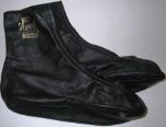 Leather Socks (Khuffain) with zipper