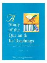 A Study of the Quran & Its Teachings (Khalid Mahmood Shaikh)