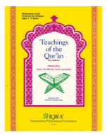 Teachings of Quran - Volume 1 Textbook (Abdullah Ghazi & Tasneema Khatoon Ghazi)