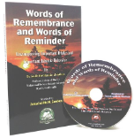 Words of Remembrance and Words of Reminder with CD