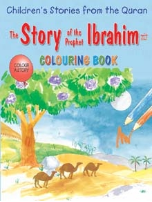 Children's Stories from the Quran - The Story of the Prophet Ibrahim, Coloring book (Saniyasnain Khan)