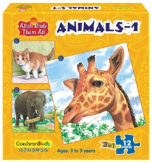 Allah Made Them All Puzzle: Animals 1 (Box of 3 puzzles)