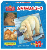 Allah Made Them All Puzzle: Animals 3 (Box of 3 puzzles)