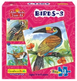 Allah Made Them All Puzzle: Birds 3 (Box of 3 puzzles)
